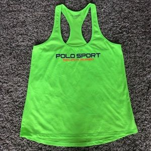 Polo Sport Ralph Lauren neon graphic athletic tank